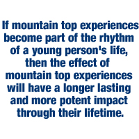 mountain top experiences quote
